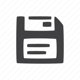 glyphs, guardar, save, ui icon