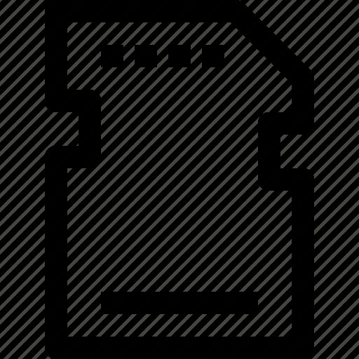 device, memory icon