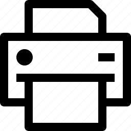device, printer icon