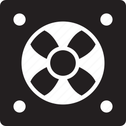 cpu, device, fan, gadget, hardware, tech icon
