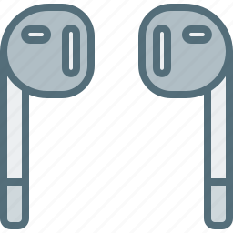 computer, device, earphone, electronic, hardware, tech icon