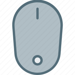 computer, device, electronic, hardware, mouse, tech icon