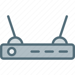 computer, device, electronic, hardware, router, tech icon