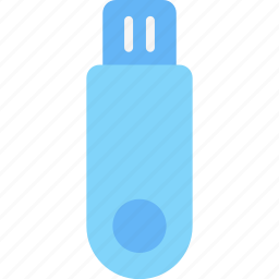 computer, device, electronic, flashdisk, hardware, tech icon