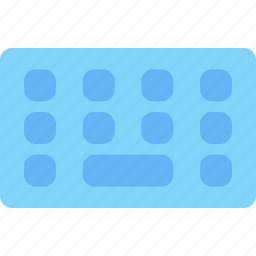 computer, device, electronic, hardware, keyboard, tech icon