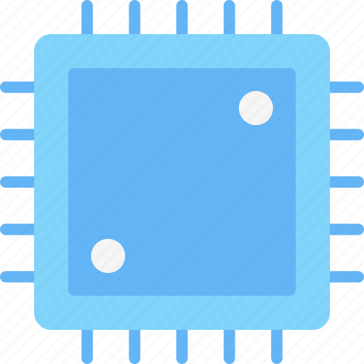 computer, device, electronic, hardware, processor, tech icon