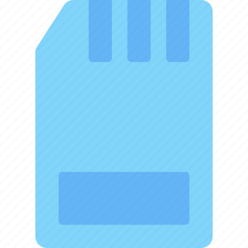 card, computer, device, electronic, hardware, sd, tech icon