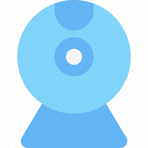 computer, device, electronic, hardware, tech, webcam icon