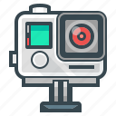camera, device, extreme, extreme camera, film, gopro icon