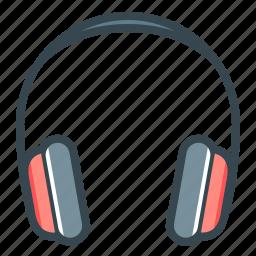 headphone, headset, hear, listen, sound icon