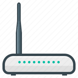 connection, hardware, internet, modem, network, router, wifi icon