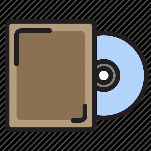 data, disk, hardware, technology icon
