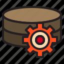 gear, hardware, storage, technology icon