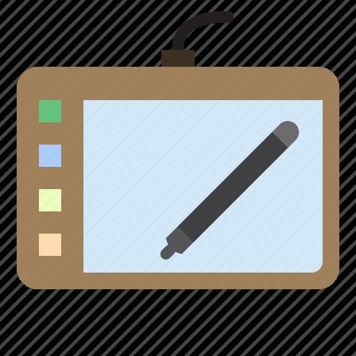 computer, mouse, pen, technology icon