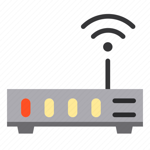 access, computer, point, technology icon