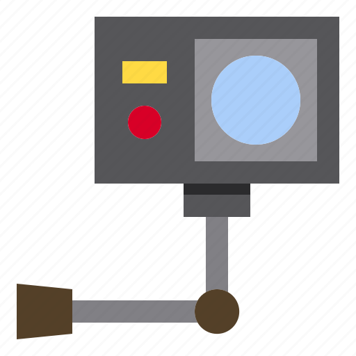 action, camera, computer, technology icon