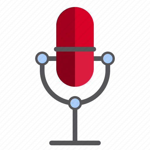 computer, mic, microphone, technology icon