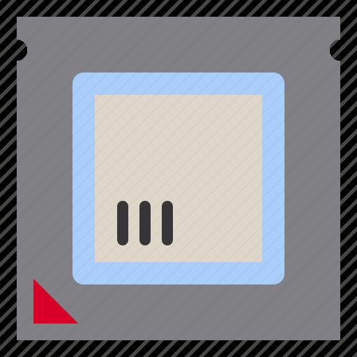 computer, microchip, processor, technology icon