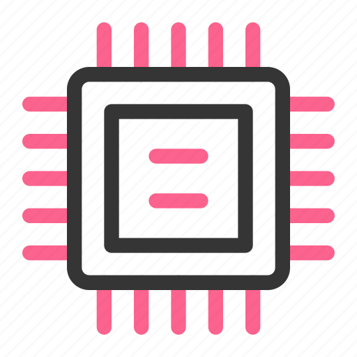 chipset, computer, cpu, device, hardware, processor, technology icon
