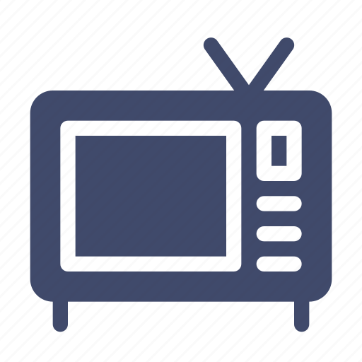device, electronic, hardware, monitor, technology, television, tv icon