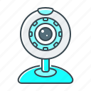 camera, devices, video, webcam icon