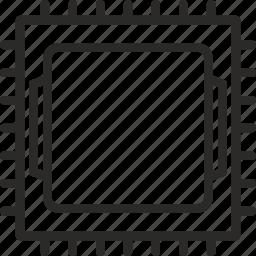amd, computer, cpu, hardware, heart, intel, processor icon