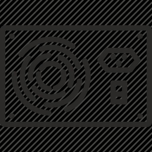 computer, electricity, hardware, peripherals, power, psu, supply icon