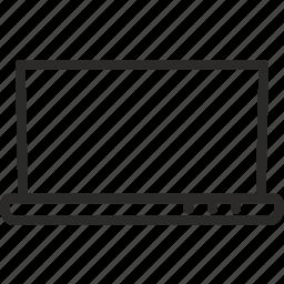 computer, hardware, laptop, linux, windows, work icon