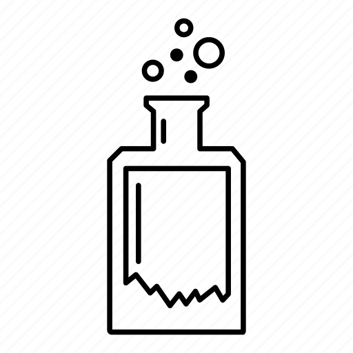 bottle, collection, final, harry potter, poison, potion icon