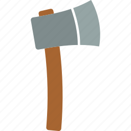 axe, cut, tool, weapon, wood icon