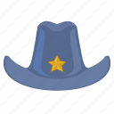 hat, head, headdress, man, police icon