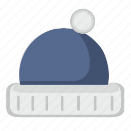 cap, dress, snow, sport, winter, wool icon