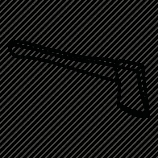 axe, bill, hatchet, wood axe icon