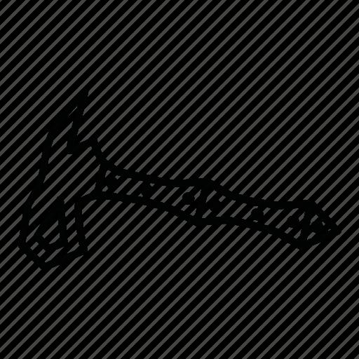 ax, axe, bill, hatchet, tool, warrior axe, warrior hatchet icon