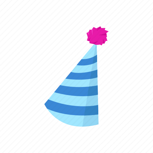 birthday hat, cap, hat, occasion, party, party hat icon