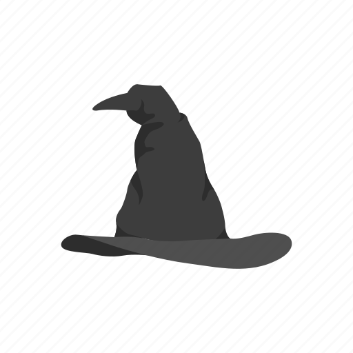 cap, dunce cap, halloween hat, hat, witch hat, wizard hat icon