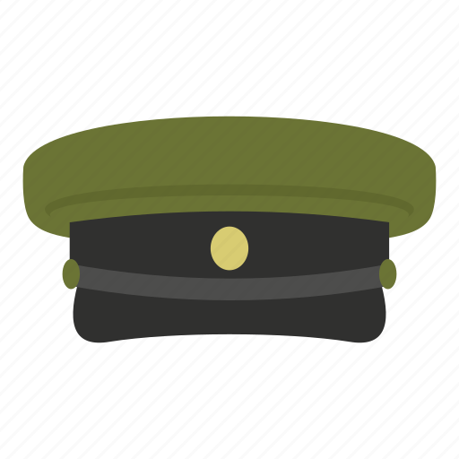 accessory, application, armed, cap, clothing, emblem, military hat icon