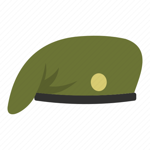 accessory, application, armed, cap, clothing, fashion, military cap icon