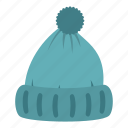 cap, clothing, fashion, hat, head, winter, woolen hat icon