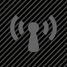 audio, media, multimedia, music, radio, wave, wireless icon