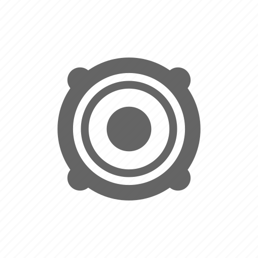 audio, media, multimedia, music, speaker, stereo icon