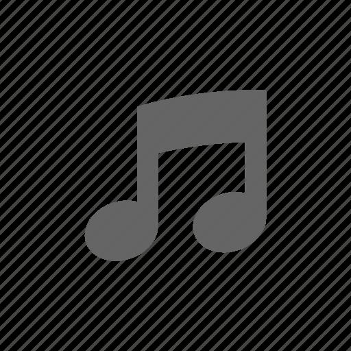 audio, media, multimedia, music, note icon