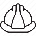 construction, hardhat, hat, headwear, helmet, safety, safetyhelmet icon
