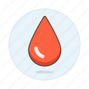blood, bloodbank, donation, drop, health, liquid, red icon