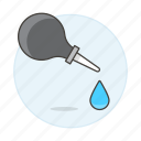 drop, dropper, health, medication, medicine icon