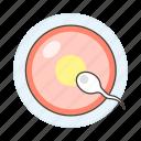 cell, egg, female, gamete, health, male, ovum, pregnancy, reproductive, sperms icon