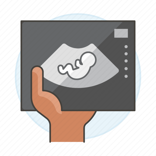 echography, fetus, health, human, imaging, medical, offspring, pregnancy, ultrasonography, ultrasound icon