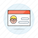 1, access, benefits, card, health, id, insurance, male, medical, services, treatment icon