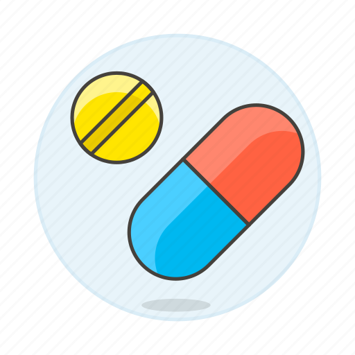aspirin, capsule, drug, health, medication, medicine, pharmacology, pill, tablet icon