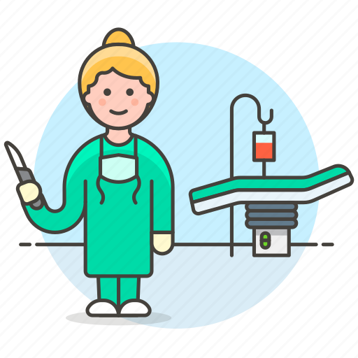 aseptic, bed, female, full, health, iv, operating, pole, room, suite, surgery, surgical, theater icon